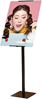 Adjustable Heavy Duty Pedestal Poster Sign Stand Rotate 360 Degrees Shop Sign Boards