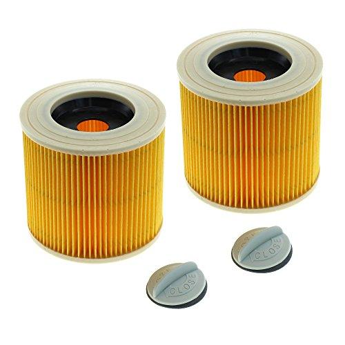 CleanMonster 2 filtros de cartucho compatibles con Kärcher 6.414-552.0/64145520