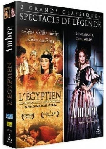 Coffret grand spectacle : ambre ; l'égyptien [Blu-ray] [FR Import]