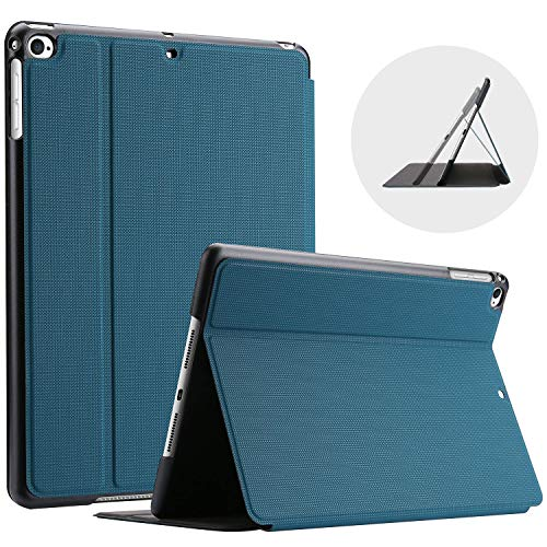 ProCase for iPad 9.7 Inch 2018 2017 (6th and 5th Generation) / iPad Air 2 / iPad Air Case, Shockproof Lightweight Slim Protective Folio Cover -Teal