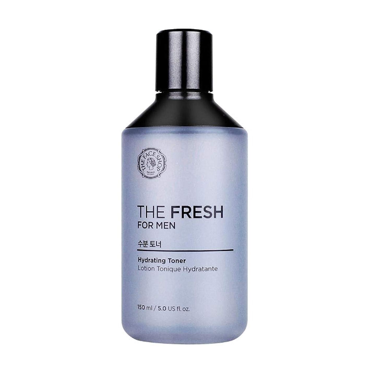 再生デザイナー失業者ザ?フェイスショップザ?フレッシュフォーマン水分トナー150mlメンズコスメ、The Face Shop The Fresh For Men Hydrating Toner 150ml Men's Cosmetics [並行輸入品]