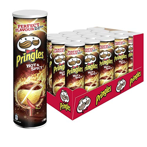 Pringles Hot & Spicy Chips | 19er Vorratspackung (19x200g)