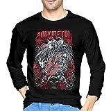 ブルームン Tシャツ 長袖 Babymetal トレーナー シャツ 上着 ファッション カットソー S Black 綿 メンズ レディース