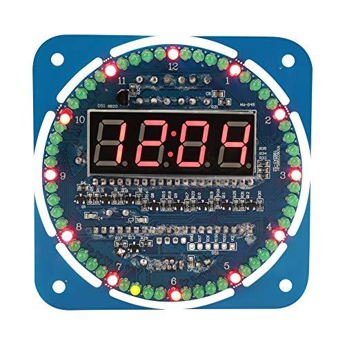 DIY DS1302 LED Licht Digital Elektronische Uhr Set 51 MCU Learning Starter Kit