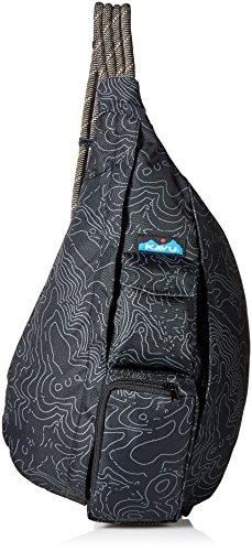 KAVU Pack Corde, Mixte, 944, Topo Noir, Taille Unique