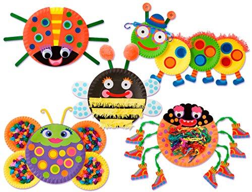Alex Little Hands Paper Plate Bugs Kids Toddler Art and Craft Activity