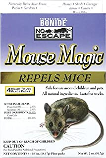 Bonide Products INC 916087 865 4 Count Mouse Repellent, 2-Ounce, Pack of 1, Brown/A