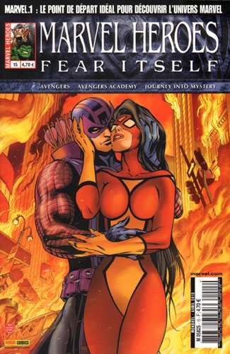 Fear Itself, Tome 15 : Marvel heroes