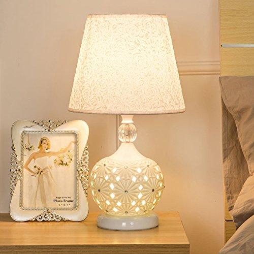LRW bedlampje slaapkamer modern Europees creatief keramiek bedlampje