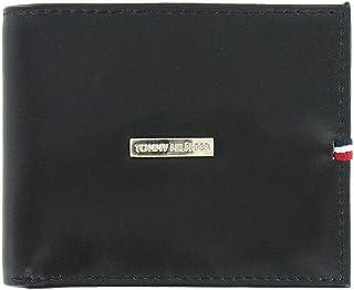 df994bf7747 Tommy Hilfiger LEATHER WALLET & VALET, Bi-fold, RFID Protection - BLACK (