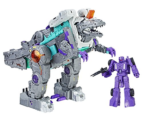 Transformers - Figura de acción Trypticon Generations Titan (Hisbro...
