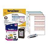VersaCheck 63 MICR Ink Check Printer Conversion Kit, MICR Black