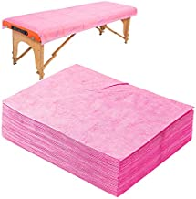 20 PCS Massage Table Sheets Sets Disposable SPA Bed Sheets Non Woven Fabric Lash Bed Cover 31