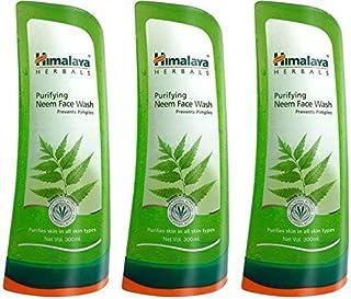 Himalaya Herbals Purifying Neem Face Wash 300ml (Pack of 3)