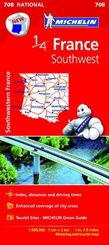 Mapa National France Southwest (Mapas National Michelin)