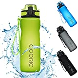 Adoric Sport Trinkflasche, [BPA Frei Tritan] 500ml Kinder auslaufsiche Flasche Schule Wasserflasche Sportflasche für Schule Ausflug Camping Freien, Outdoor, Yoga, Gym.