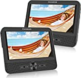 FANGOR 7.5'' Dual Car DVD Player, Headrest Video CD Player with Two Screens, Supported USB/SD/MMC Card Readers, Last...