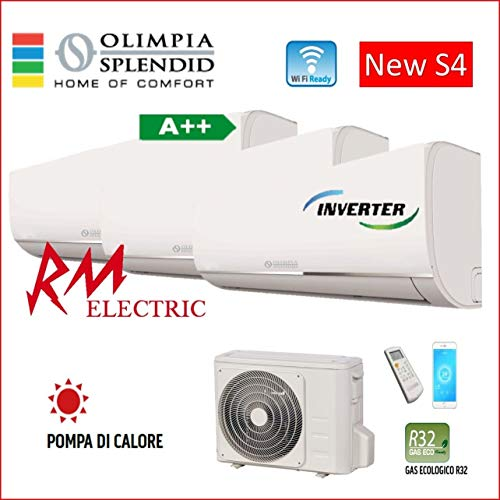 Olimpia Splendid Climatizzatore Trial Split A++ Inverter 9000+9000+12000 Btu Wi-Fi R32