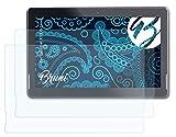 Bruni Schutzfolie kompatibel mit Touchlet X13.Octa Folie, glasklare Bildschirmschutzfolie (2X)