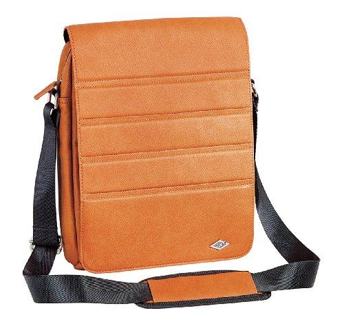 Wedo 596106 GoFashion Pro Crossover-Tasche Hochformat (mit Spezialfach für Tablet PCs) orange