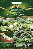 Quedlinburger 292889 Grill-Paprika Padron (Saatplatte)...