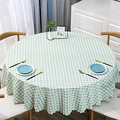 JIALIANG Almohadilla protectora impermeable de PVC para la mesa/cubierta de mesa de la estera utilizada para el comedor cocina y picnic, 90x140cm