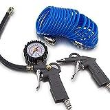 Bituxx® - Juego de accesorios de aire comprimido (3 piezas)
