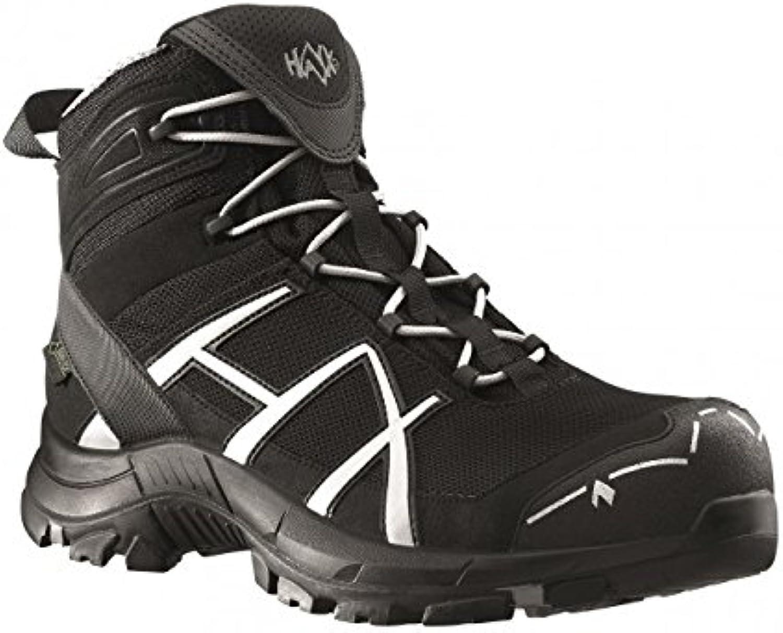 e2844ea180d Haix® Black Black Black Eagle Safety 40 Mid Black/Silver S3,  Größe:7.5-41 B00N4LFN2C 1d5e2d