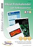 Your Design Kalender Papier: Fotokalender-Set A4 hoch (140g/m²) (Kalenderset)