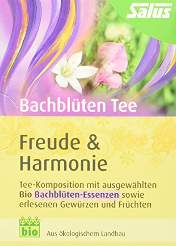Salus Bachblüten Tee Freude und Harmonie Bio 15 FB (1 x 30 g)