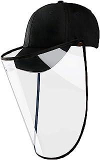 غطاء قبعة DBlosp وجه درع ، مضاد للضباب ومقاوم للرياح قابل للإزالة وخفيف الوزن في الهواء الطلق قبعة بيسبول مريحة للرجال وال...