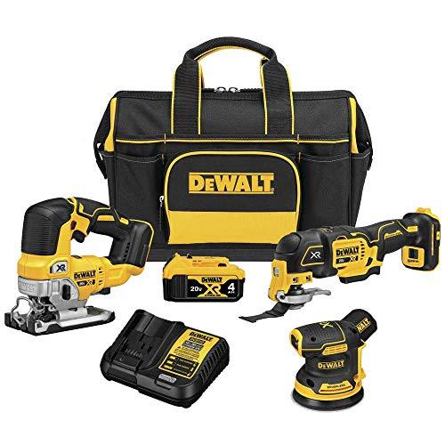DeWALT DCKSS300M1 20V MAX XR Brushless Cordless Combo 3-Tool Kit