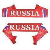Bufanda de fútbol de la Copa Mundial Rusia 2018, bufanda del equipo nacional de 32 equipos, bandera de la bandera de Banner Fútbol Cheerleader bufandas Rusia bufanda