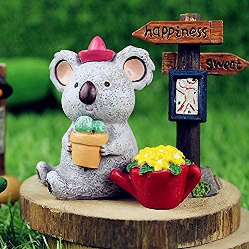 Home Dekorationen Kreative Geschenke Kein Schwanz Baum Koala Puppe Kreative Geschenke Ornamente Regen Blau Koalabär