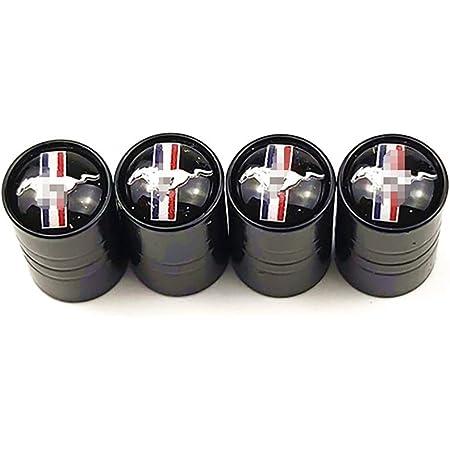 Wxqyr 4pcs New Car Styling Rad Reifen Reifenventil Vorbaukappen Felge Für Ford Mustang Küche Haushalt