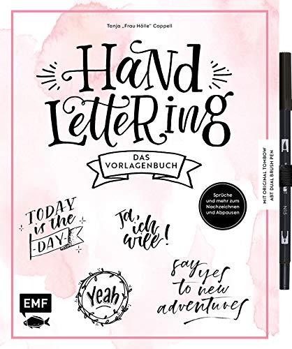 Handlettering – Das Vorlagenbuch – Mit original Tombow ABT Dual Brush Pen: Sprüche, Alphabete und mehr zum Nachzeichnen und Abpausen