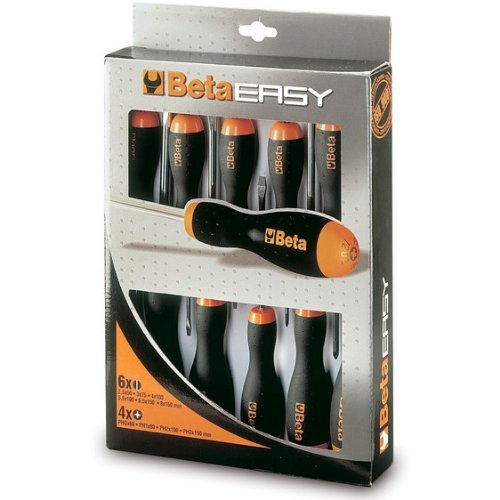 Beta 012030010-1203/D10-Juego De 10 Destornilladores