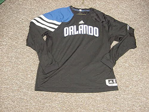 Quentin Richardson Orlando Magic 2011-2012 Game Worn Long Sleeve Shooting Shirt