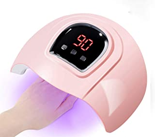 54W Gel UV LED Nail Lamp,Prottylife Nail Dryer Gel Nail Polish LED UV Light with 3 Timers Professional Nail Art Tools Acce...