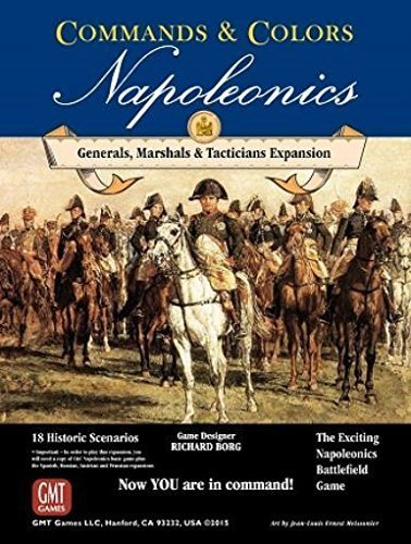 Commands & Colors: Napoleonics Expansion 5: Generals, Marshalls, Tacticians by GMT Games