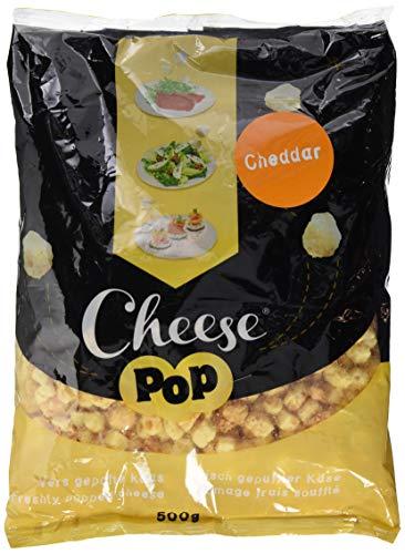 Cheesepop Cheddar, 100% gepuffter Käse. überraschend knusprig & luftig!, 1er Pack (1 x 500 g)