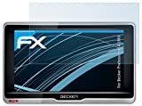 atFoliX Schutzfolie kompatibel mit Becker Professional.6 LMU Folie, ultraklare FX Displayschutzfolie (3X)