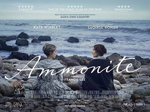 Official - Ammonite (Kate Winslet, Saoirse Ronan) 2020 Movie Poster - Canvas (10.5