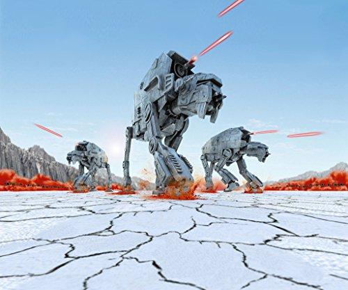 Revell Build & Play - Star Wars First Order Heavy Assault Walker - 06761, Maßstab 1:164, originalgetreue Nachbildung mit beweglichen Teilen, mit Light&Sound Effekten, robust zum Spielen