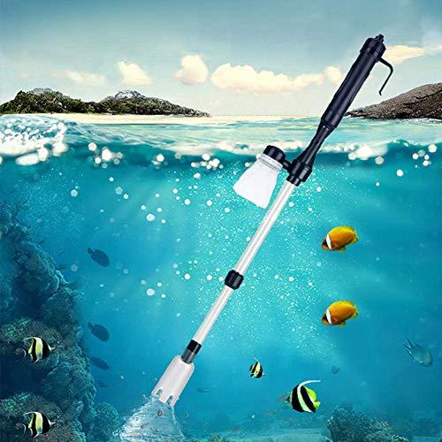 水交換ポンプ 水槽清掃ポンプ クリーナーポンプ 水槽掃除機 電動式 長さ調整 水替え 砂掃除 魚糞清掃 アクアリウム用