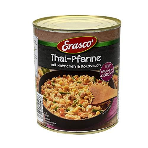 Erasco Pfannengericht: Thai-Pfanne mit Hähnchen und Kokosmilch, 2er Pack (2 x 800 g)