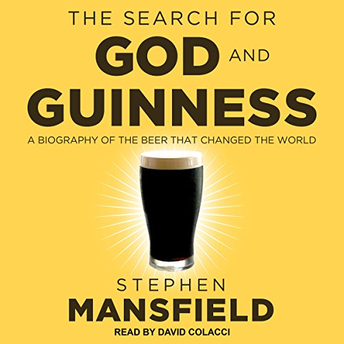 The Search for God and Guinness audiobook cover art