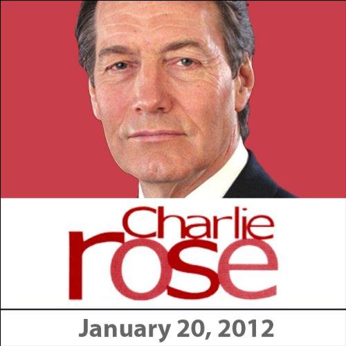 Charlie Rose: Richard Frackowiak, Chuck Close, Masud Husain, Eric Kandel and John Brust, January 20, 2012 cover art
