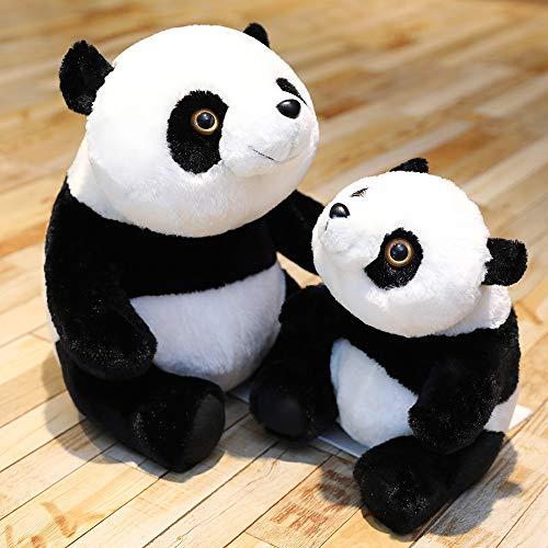 RJGLKS 30-60cm Süße Riesenpanda Plüschtier Kuscheltier Bär Puppe Kawaii Panda Kissen Kinder Mädchen Liebhaber 30cm