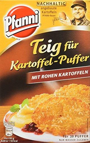 Pfanni Teig für Kartoffel-Puffer mit rohen Kartoffeln, 1er-Pack (1 x 220 g)